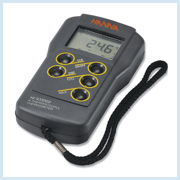 K-type Thermocouple Thermometers and Probes