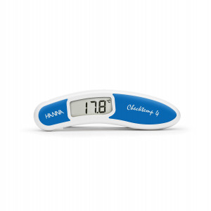 Hanna HI-151-2 Checktemp4 blue folding thermometer for raw fish