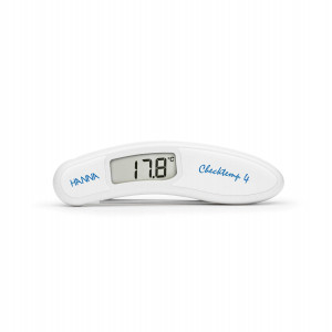 Hanna HI-151 Checktemp4 white folding thermometer for general use & dairy
