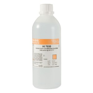 HANNA HI-7030L/C Conductivity Solution 12 880uS - 500ml - with Certificate