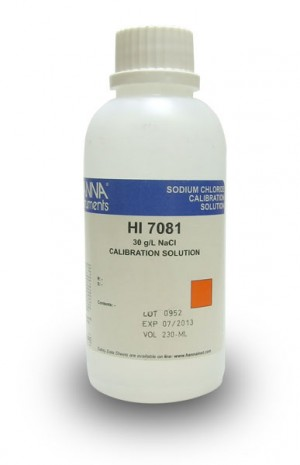 Hanna HI-7081L Standard Solution at 30 g/L NaCl, 500ml