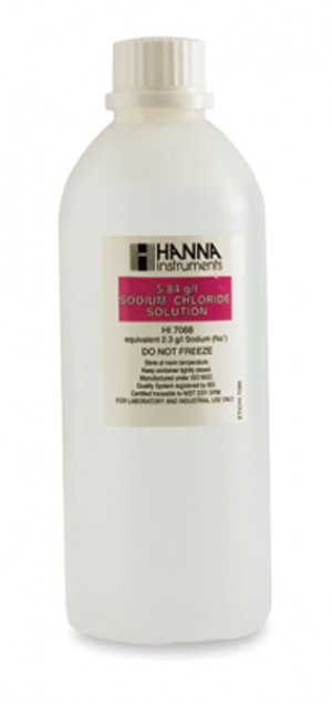 Hanna HI-7088M Standard Solution at 5.84g/L sodium chloride (NaCl), 230ml