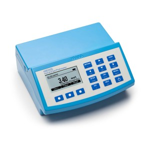 HI-83326-02 Multi-parameter photometer with pH meter for Swimming Pools and Spas
