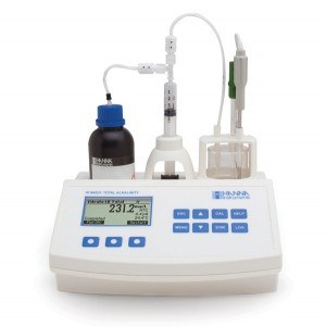 Hanna HI-84531-02 Total Alkalinity mini titrator for water analysis