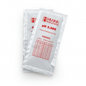 Hanna HI-60002-02 pH 2.000 Millesimal Buffer Solution, 25 x 20ml sachets