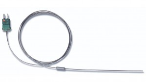 Hanna HI-766Z/3 K-Type Thermocouple Wire Probe for Ovens, 3m cable