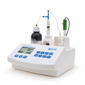 Hanna HI-84500-02 Sulphur Dioxide Mini Titrator for Wine Analysis