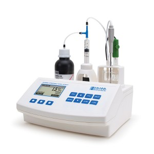 Hanna HI-84502-02 Titratable Acidity Mini Titrator for Wine Analysis