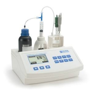 Hanna HI-84532-02 Titratable Acidity Mini Titrator and pH Meter for Fruit Juice