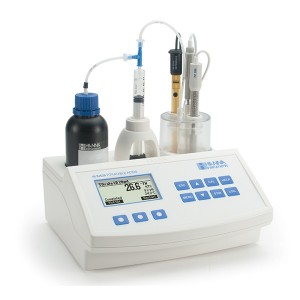Hanna HI-84529 Titratable Acidity Mini Titrator for Milk Analysis