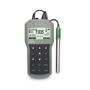 HANNA HI-98191 Professional Waterproof pH/ORP/ISE Meter
