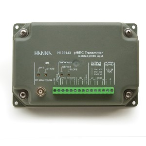 Hanna HI-98143-20 pH and EC Transmitter with Isolated Output