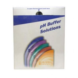 Hanna HI-50016-01 pH 1.68 Technical Buffer Solution, 10 x 20ml sachets, +/- 0.01 pH & Certificate