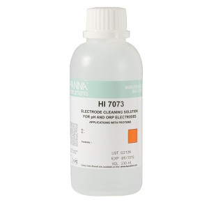 Hanna HI-7073M Electrode Cleaning Solution for Proteins, 230 mL bottle