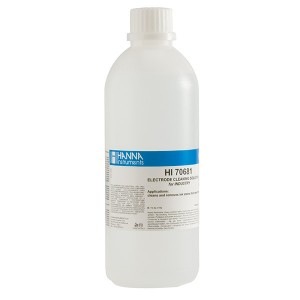 Hanna HI-70681L Electrode Cleaning Solution for Ink (deposits), 500 mL