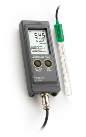 Hanna HI-99171 Leather and Paper pH Meter